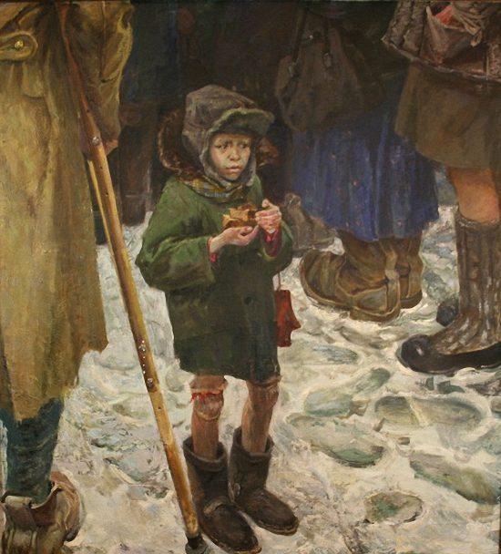Гойдин Олег. Военный хлебушек.