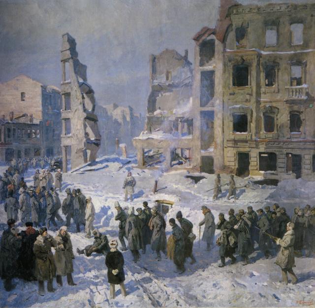 Ефанов Василий. Сталинград.
