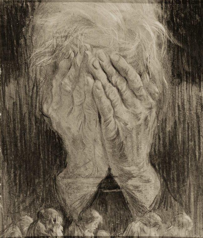 Жуков Николай. Горе матери.
