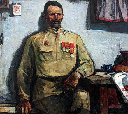 Пантюхин Юрий. Бывалый солдат.