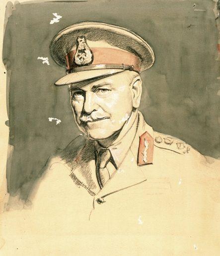 Dargie William. Генерал Thomas Blamey.