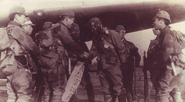 Капитан Окуяма и подразделение «Гирецу». 1945 г.