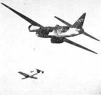 Сброс «Ohka» с самолетиа носителя.