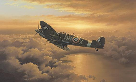 Hipkiss Neil. Полет истребителей Spitfires.