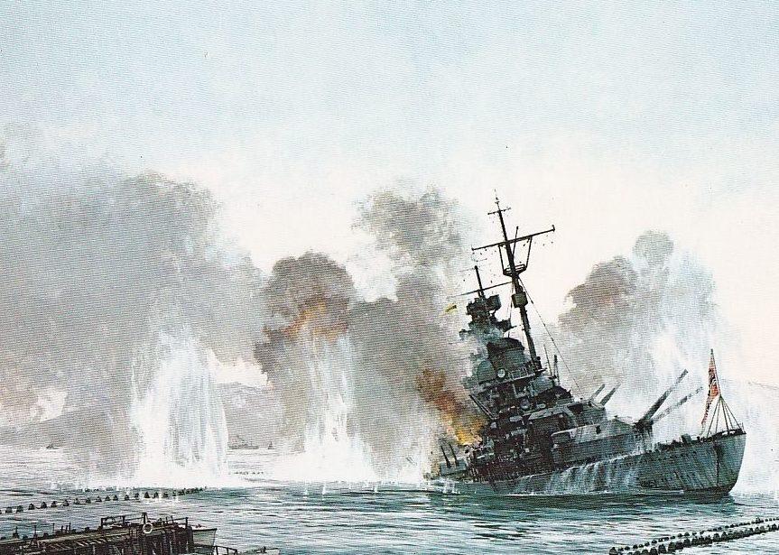 Mayger Chris. Гибель линкора «Tirpitz».