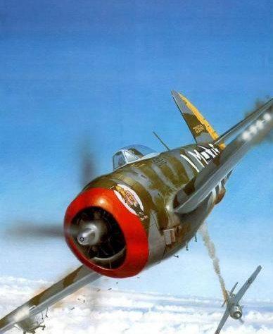 Wyllie Iain. Истребитель Republic P-47D-25.