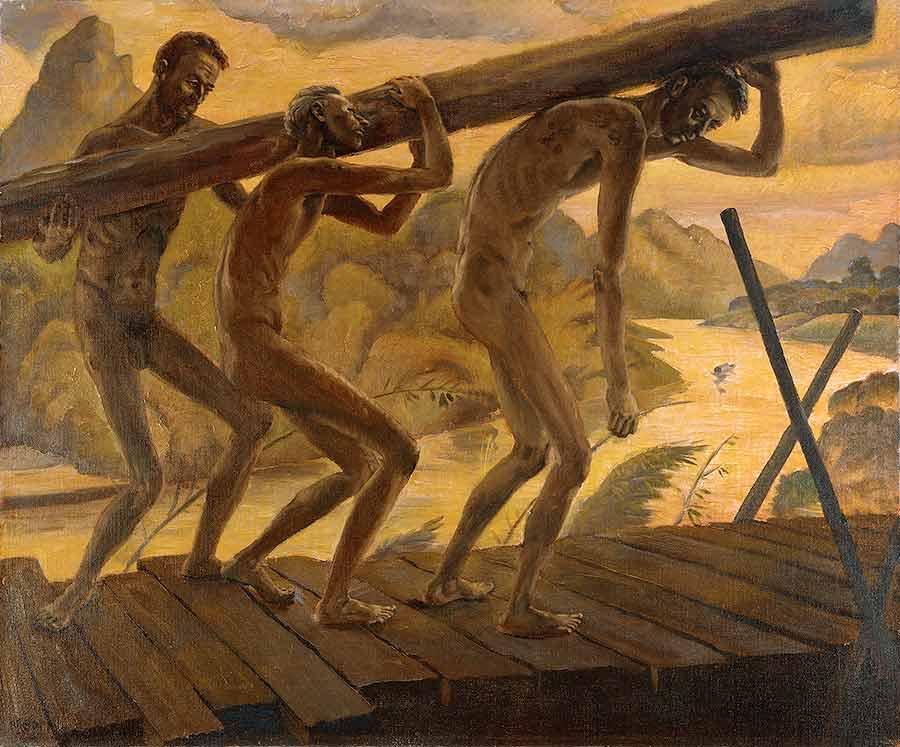 Abbott Harold. Австралийские военнопленные.