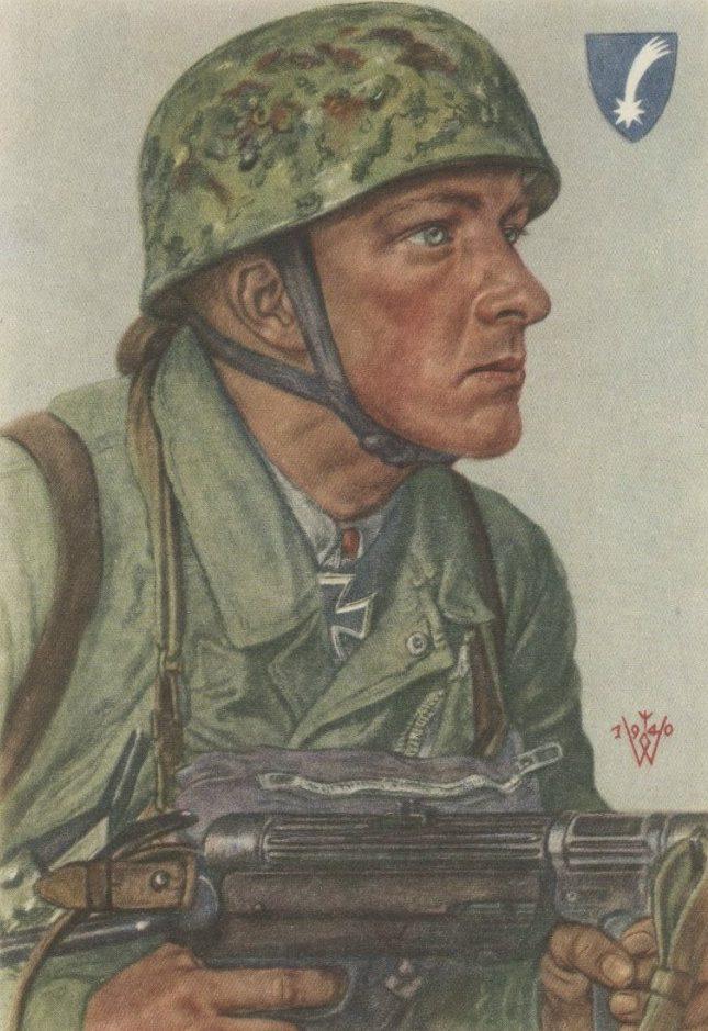 Willrich Wolfgang. Федфебель Arpke.