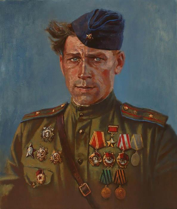 Войнов Константин. Портреты героев.