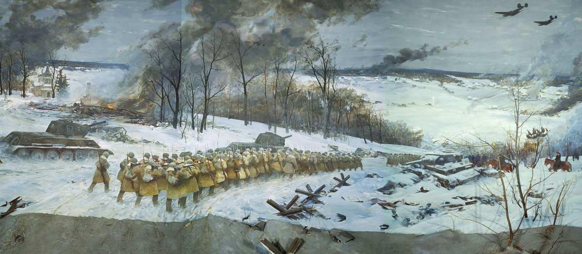 Данилевский Евгений. Контрнаступление под Москвой.