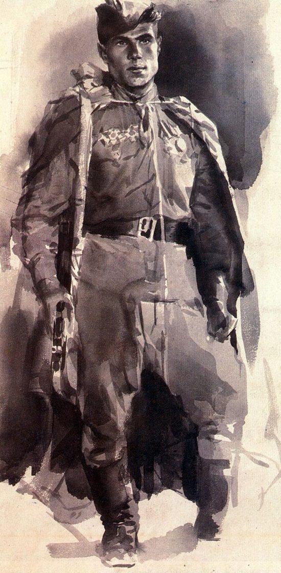 Климашин Виктор. Герой боев за Берлин Трайдуков.