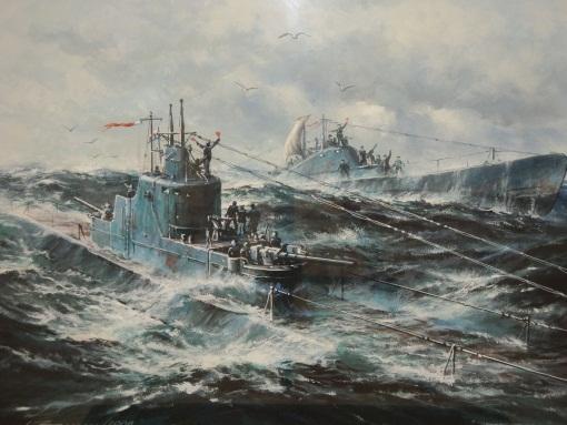 Заикин Александр. Встреча подводной лодки К-22 с аварийной Щ-42.