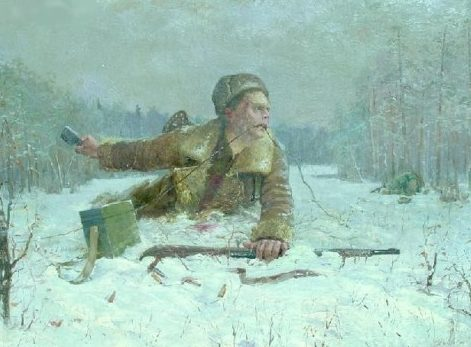 Макогонов В. Подвиг связиста.