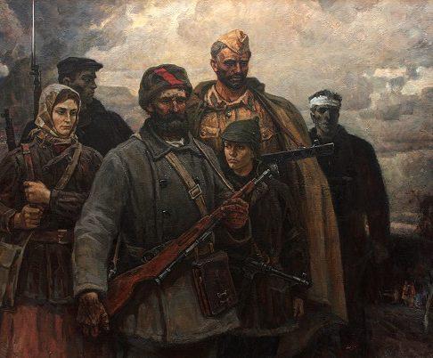 Пантюхин Юрий. Партизаны.