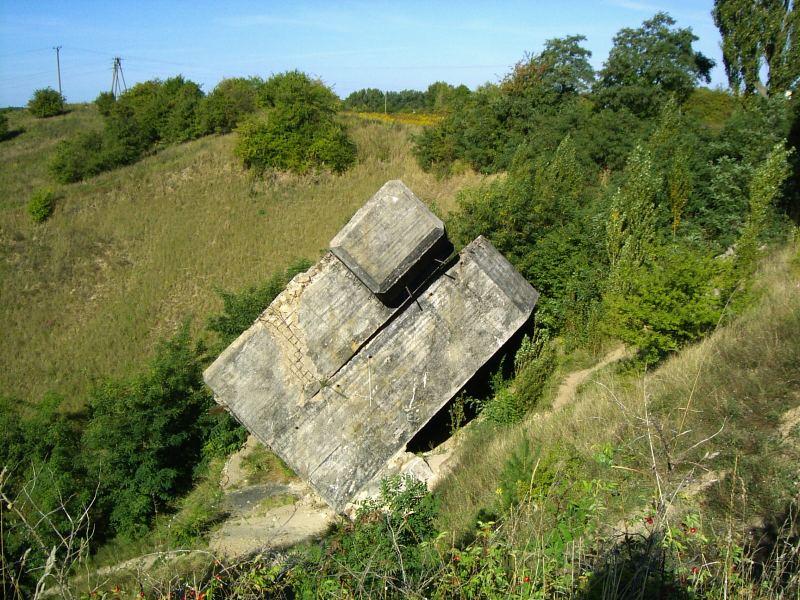 Бункер возле Вальца.