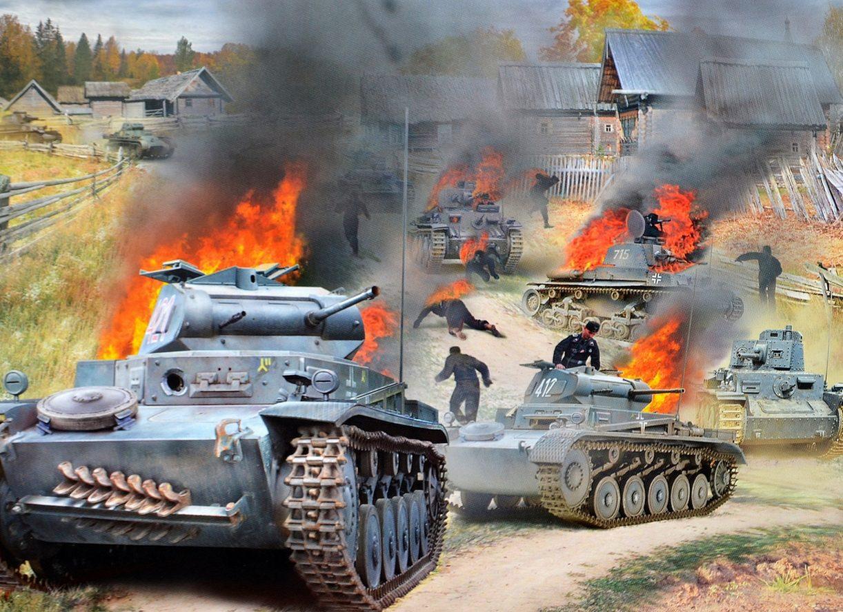 Проказов Борис. Ловушка для танков.