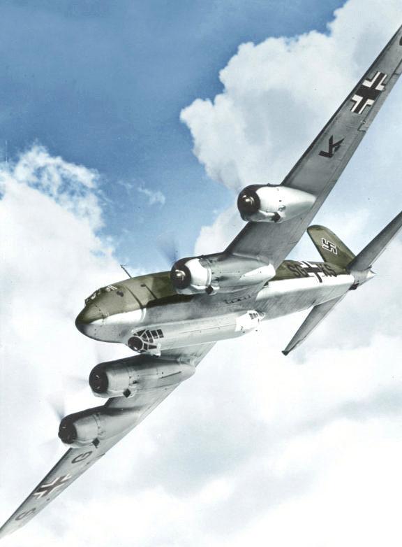 Самолет Гитлера Focke-Wulf 200С-4/U1 Condor.