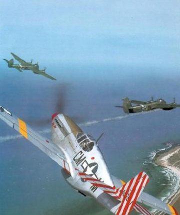 Wyllie Iain. Истребитель North American Mustang P-51B-10.