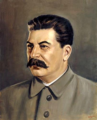 Толкачев Петр. Портрет Сталина.