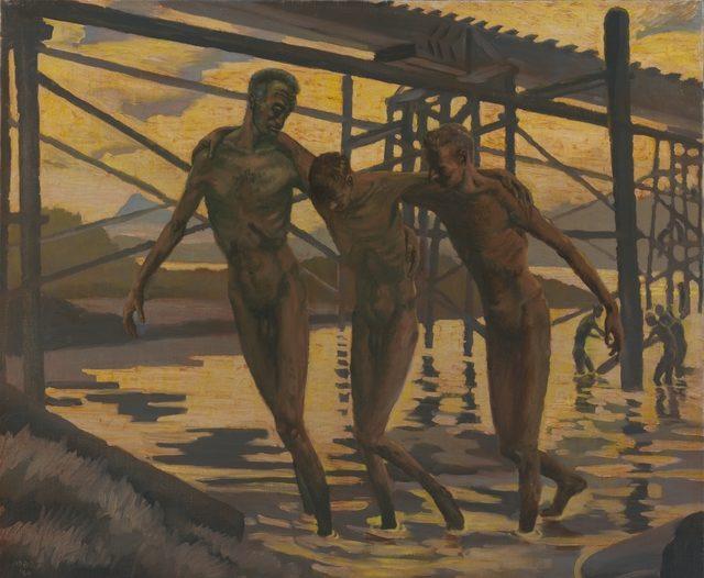 Abbott Harold. На строительстве железной дороге.