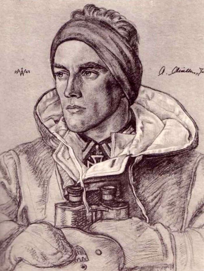 Willrich Wolfgang. Федфебель Alfred Müller.