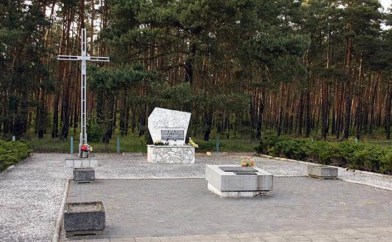 г. Костшин-на-Одре, Гожувский повят. Кладбище военнопленных Шталага III-C. Всего похоронено около 12 тысяч человек из разных стран союзников.