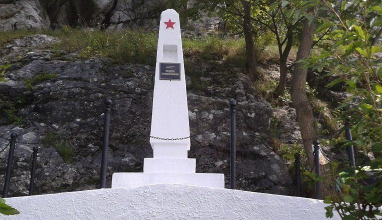 г. Олькуш. Обелиск на католическом кладбище по улице Славковска, где захоронено 1 115 советских воинов, в т.ч. 878 неизвестных, погибших в годы войны.