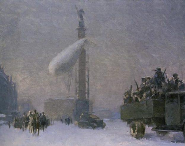 Николаев Я. Площадь Урицкого 1941-1942 гг.