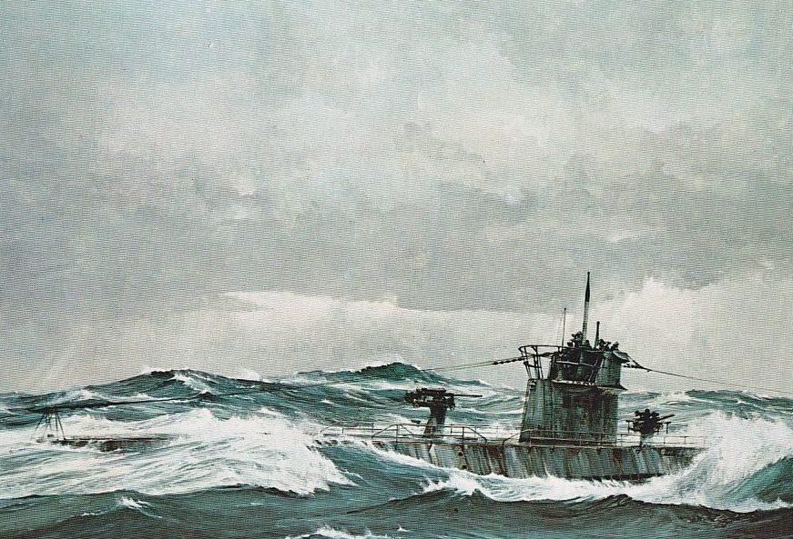 Mayger Chris. Подводная лодка.
