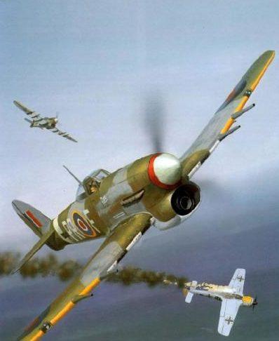 Wyllie Iain. Истребитель Hawker Typhoon Mk.IB.