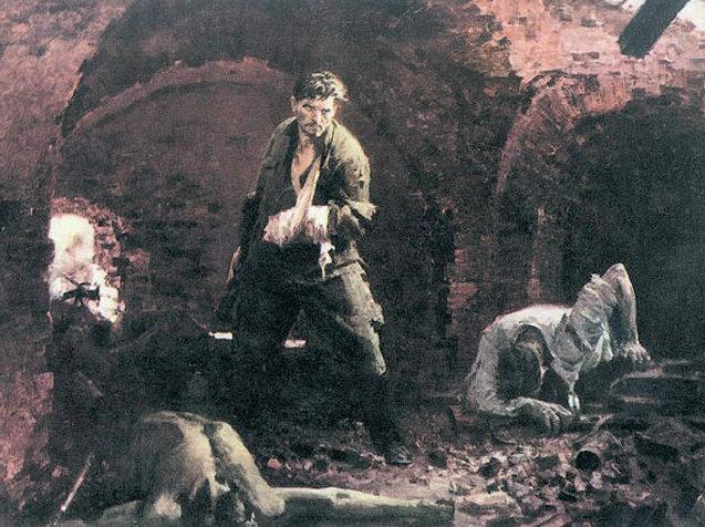 Толкунов Николай. Бессмертие. Брест 1941 г.