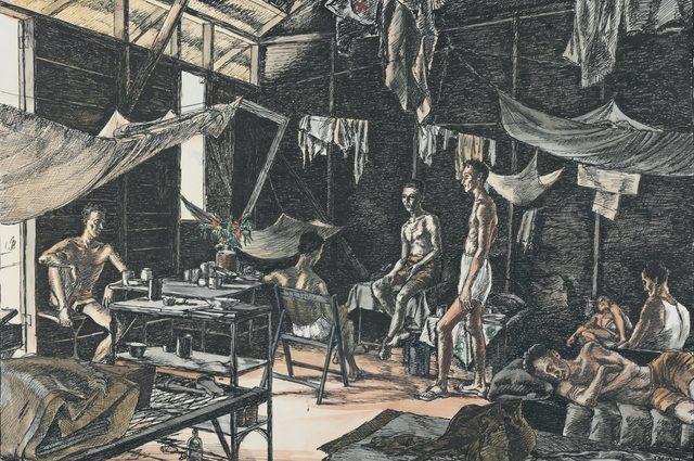 Abbott Harold. Лагерь военнопленных Changi.