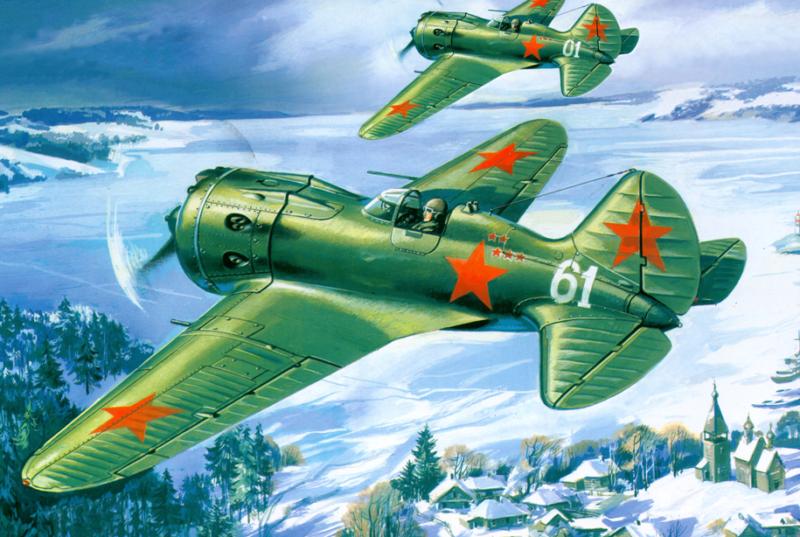 Руденко Валерий. Истребитель И-16.