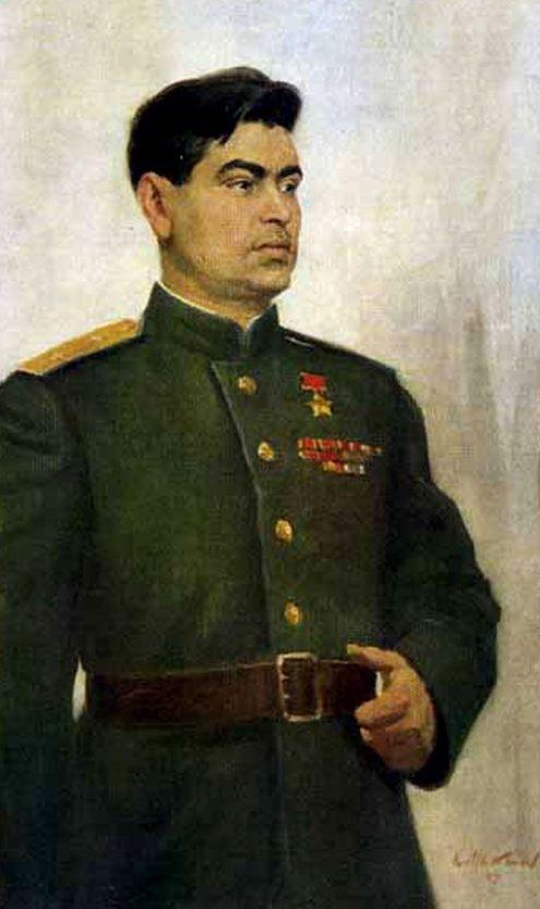 Максимов Константин. Летчик-истребитель Маресьев А.П.