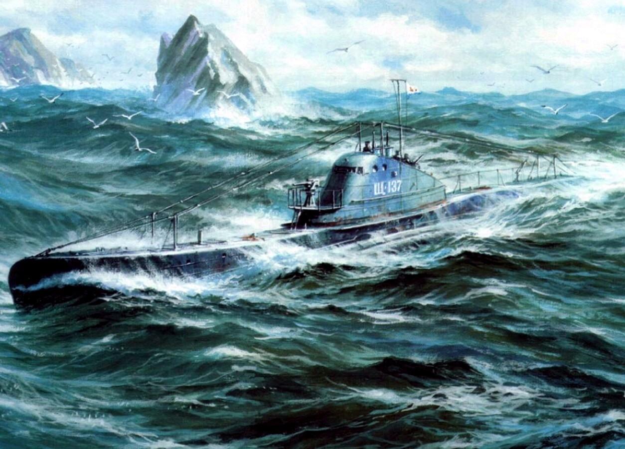 Заикин Александр. Подводные лодки серии «Щ».