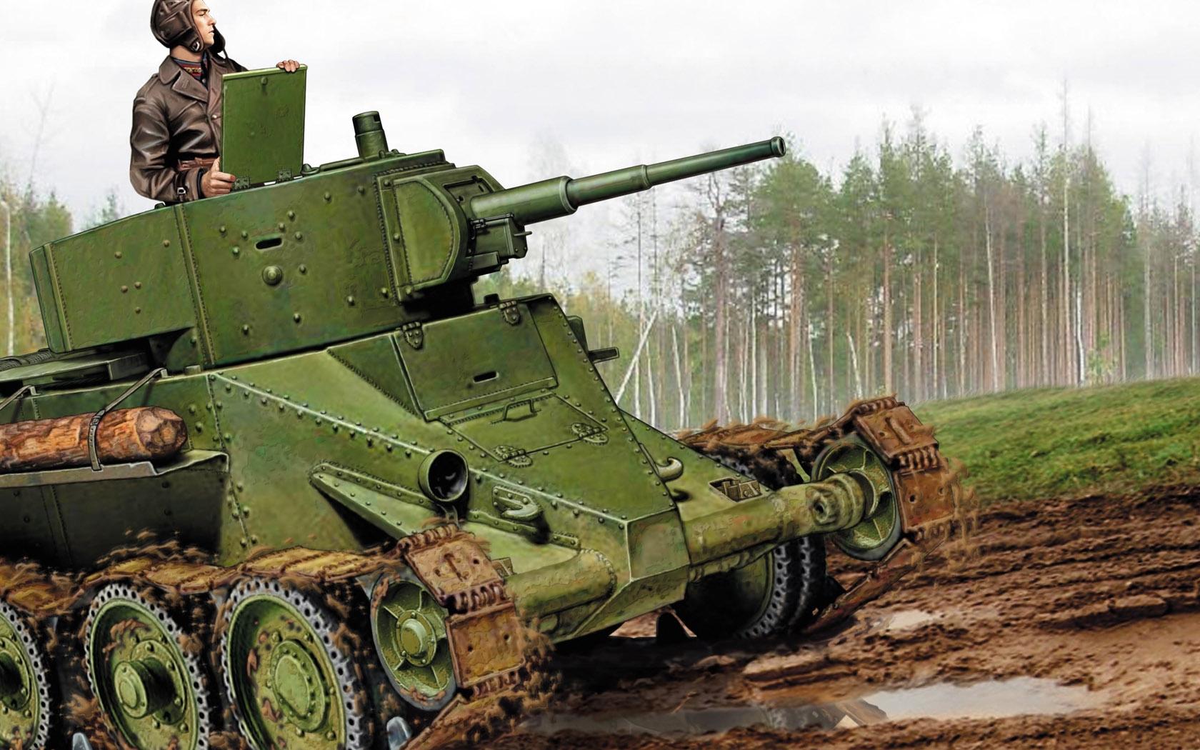 Петелин Валерий. Летающий танк БТ-5.