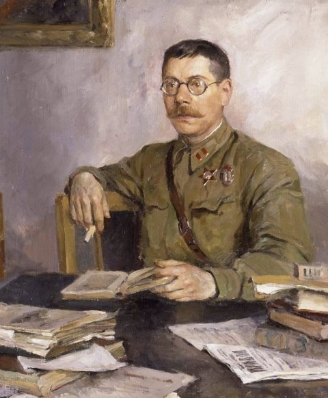 Серов Владимир. Портрет В.М. Саянова.