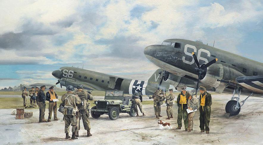 Smith Robin. Транспортные самолеты C-47 Dakota.