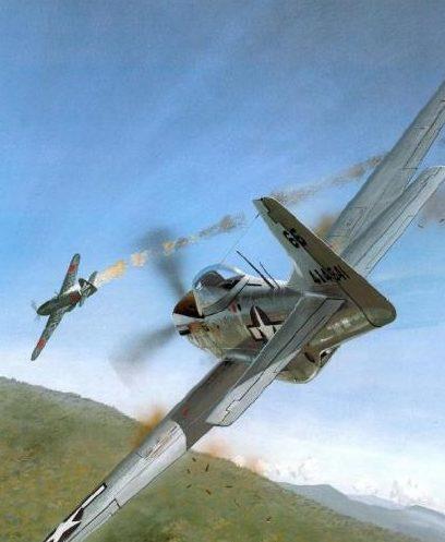 Wyllie Iain. Истребитель Mustang F-6D-10.