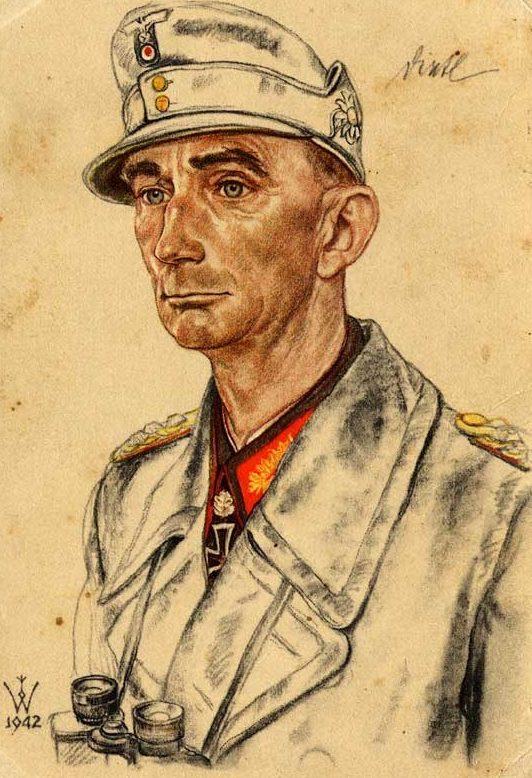 Willrich Wolfgang. Генерал-полковник Eduard Dietl.