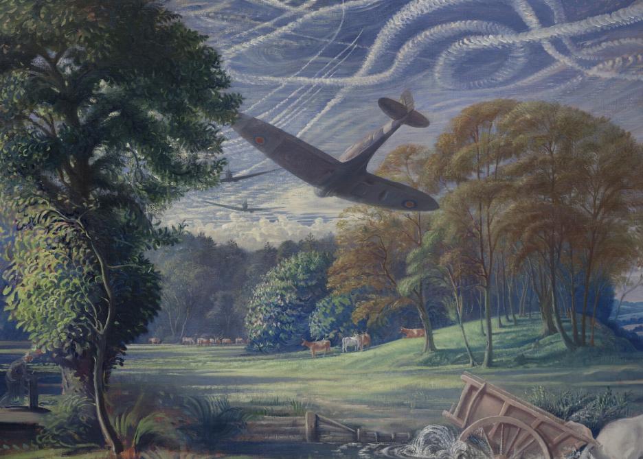 Walter Thomas. Spitfires атакуют ракеты.