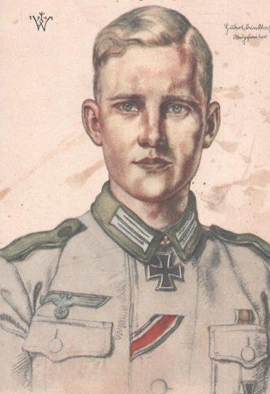 Willrich Wolfgang. Федфебель Hubert Brinkford.