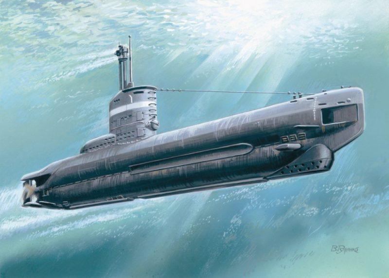 Руденко Валерий. Немецкая подводная лодка серии XXIII.