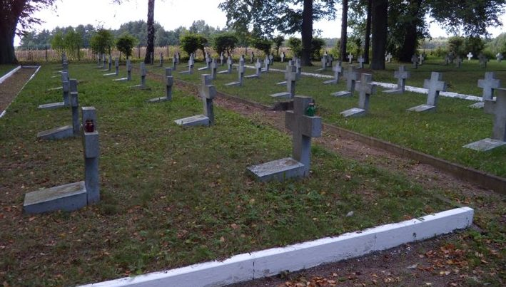Братские могилы военнопленных.