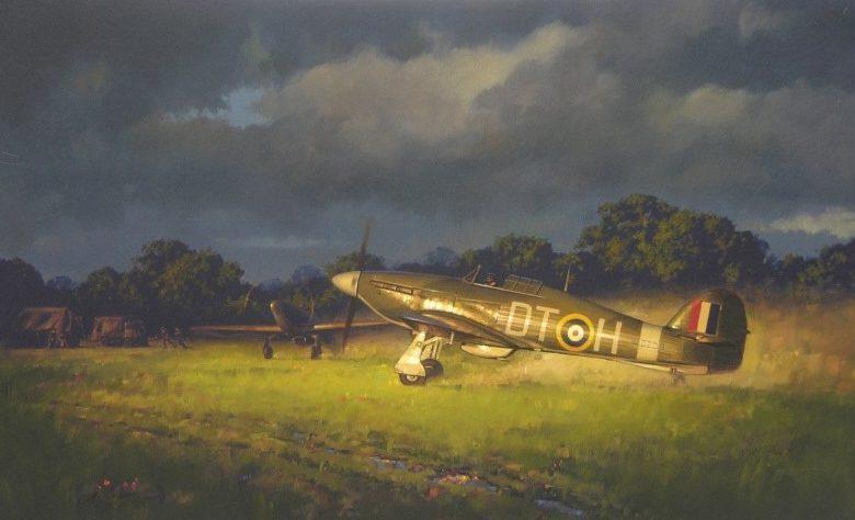 Murray Roger. Истребители Hawker Hurricane.
