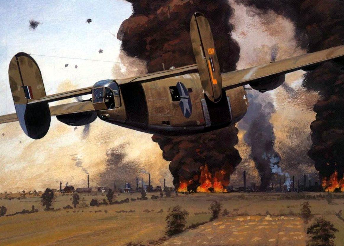 Wyllie Iain. Бомбардировщик В-24.