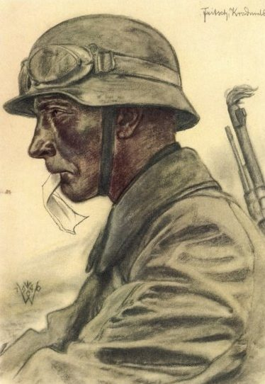Willrich Wolfgang. Солдат Fritz Klingenberg.
