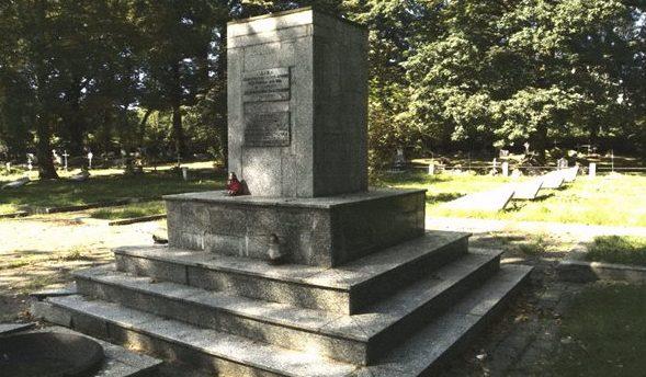 г. Жешув. Воинское кладбище по улице Подкарпацка, где похоронено 224 советских воинов, в т.ч. 116 неизвестных, погибших в годы войны.