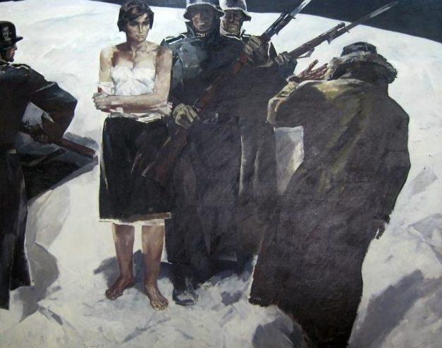 Малуев Борис. Партизанка.