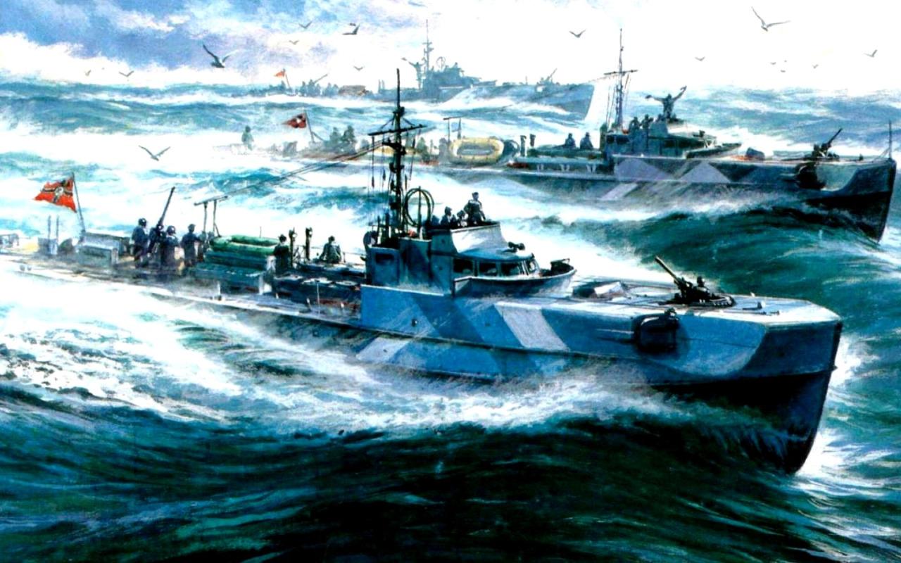 Заикин Александр. Торпедные катера «Schnellboote».